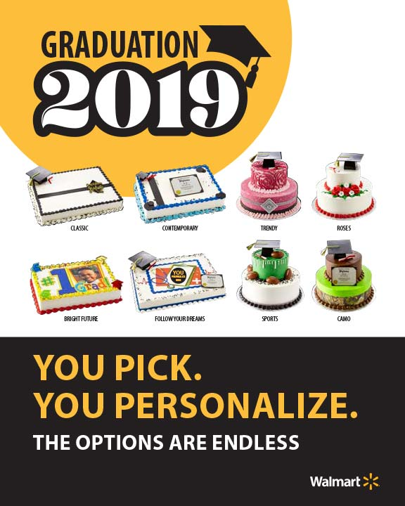 2019 Graduation Cake Catalog