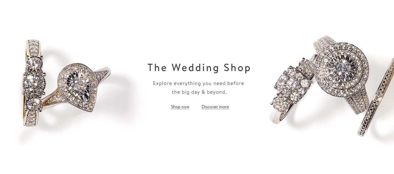 The Wedding Shop Explore everything you need before the big day & beyond.
