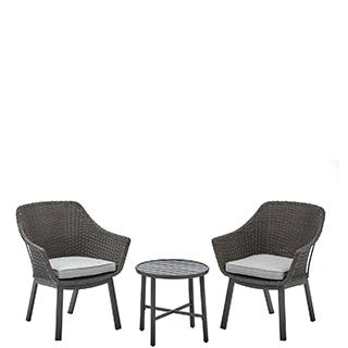 White outdoor furniture Frontgate Bistro Sets Walmart Patio Furniture Walmartcom
