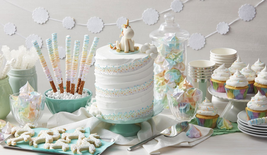 cd4203408f How to Create a Whimsical Unicorn Cake - Walmart.com