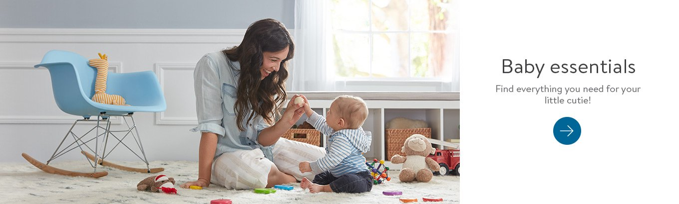 Baby essentials Find everything you need for your little cutie!