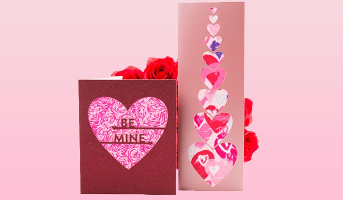 Homemade Heart Greeting Cards 2 Die Cut Ideas For Valentine S Day