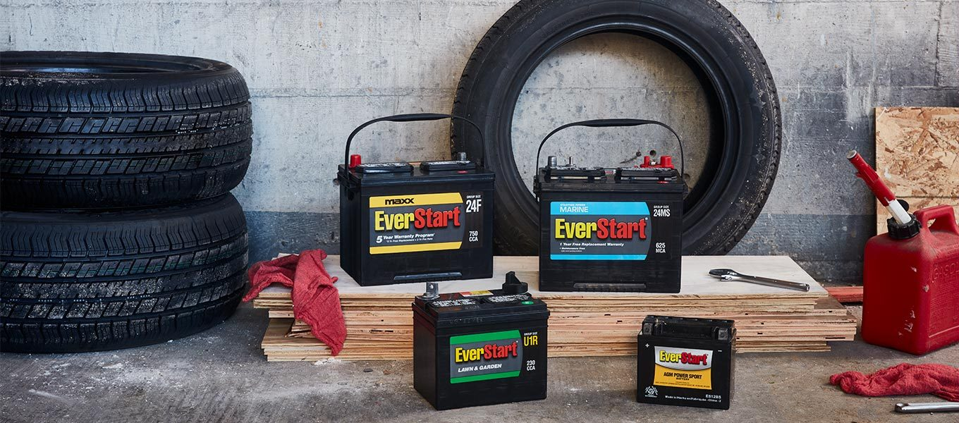 Battery finder: Input your car's info and find the right model.