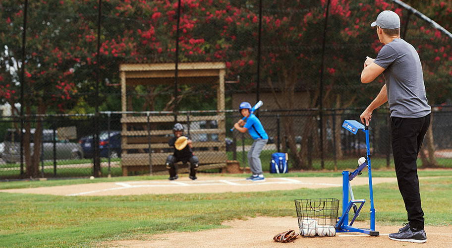 Full swing ahead. Score top-brand bats, mitts, training gear & all you need to play better in 2019, right off the bat.
