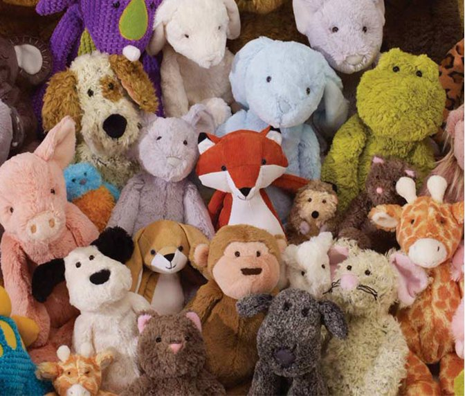 Manhattan Toy. Snuggle up with a plush animal pal. d4d3daacd1