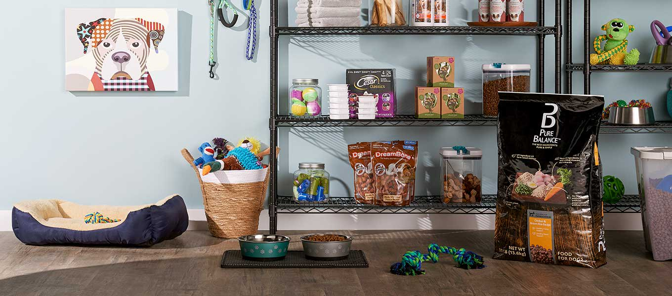 Restock all your pet's essentials for less.