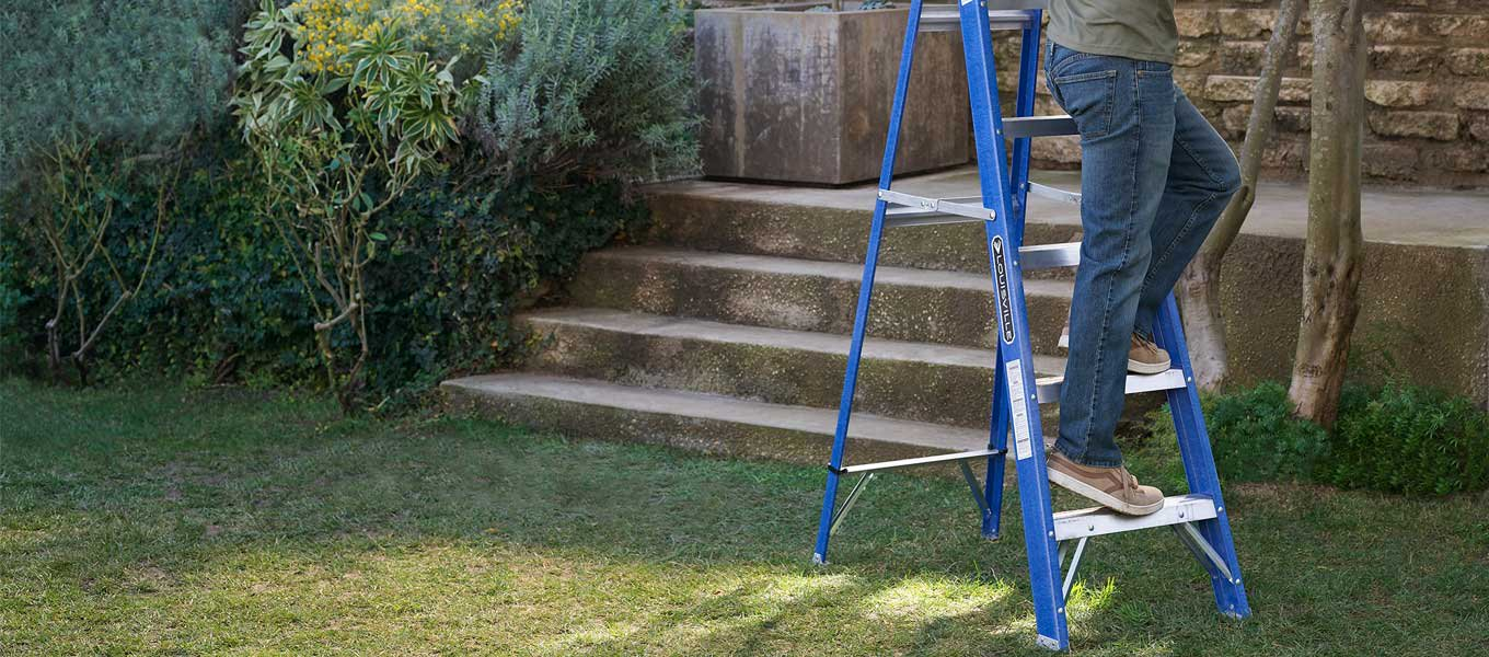Louisville Ladder. Take your DIY projects to new heights.
