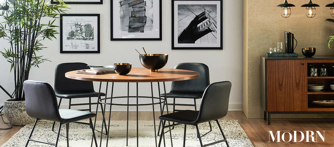 Introducing MoDRN. A curated collection of modern designs for everyone & every space.