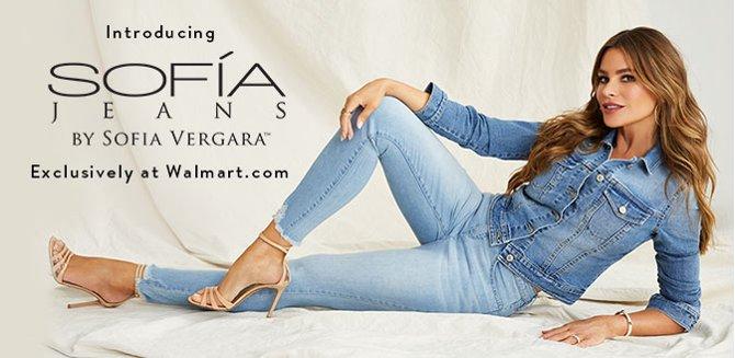 964ecbebf5243 Introducing Sofía Jeans by Sofía Vergara. Exclusively at Walmart.com.