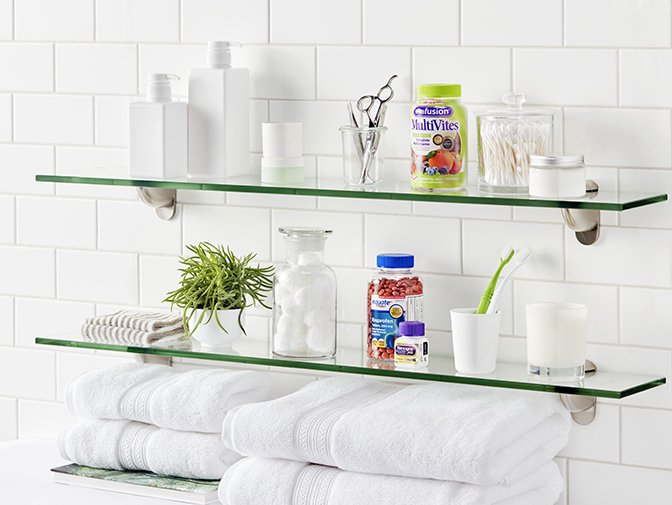Keep your medicine cabinet well stocked.