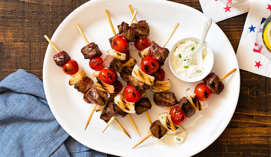 'Cue & Skew: Easy BBQ Skewer & Grilled Kebab Recipes