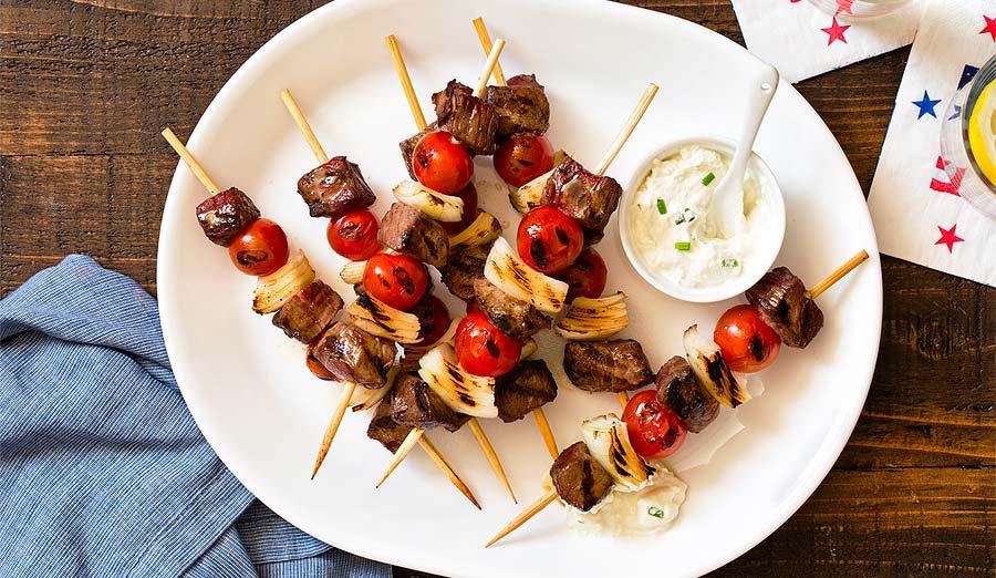 'Cue & Skew: Easy BBQ Skewer & Grilled Kebab Recipes
