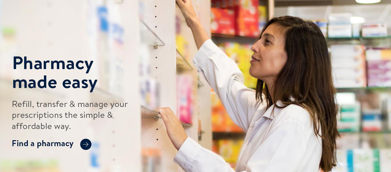 Pharmacy made easy. Refill, transfer & manage your prescriptions the simple & affordable way. Find a Walmart Pharmacy near you.