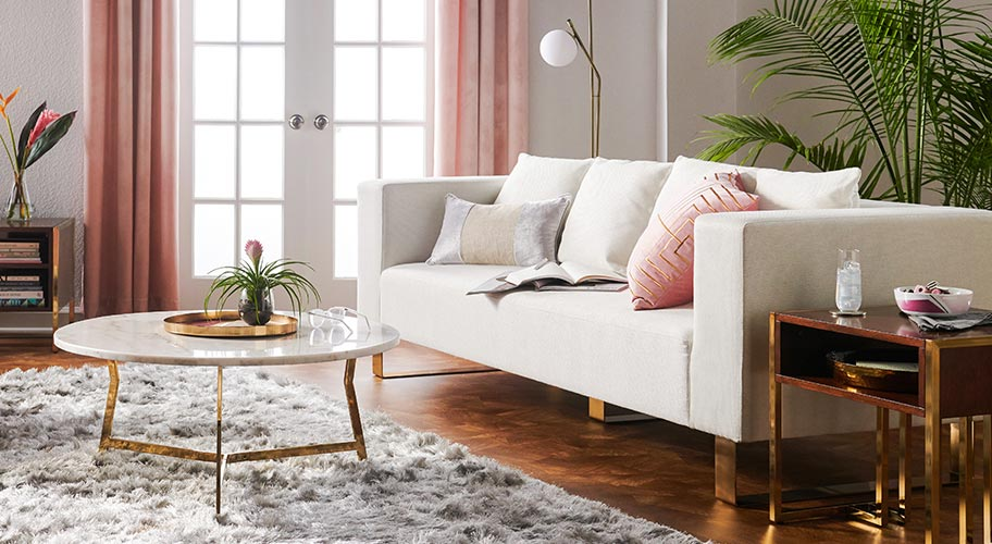 Introducing MoDRN. Style a living room that feels fresh & contemporary with furnishings from our exclusive line of modern designs.