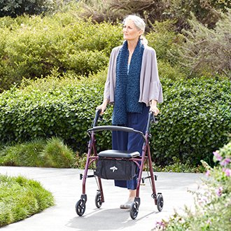 Stay on the move with mobility aids.