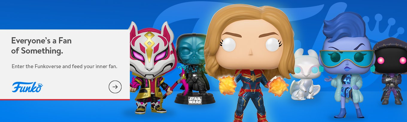 Walmart Funko Pop: Everyone is a fan of something