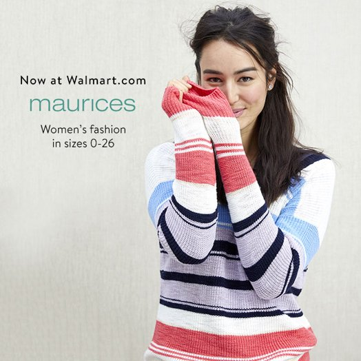 Now at Walmart.com  maurices  Women's fashion in sizes 0-26