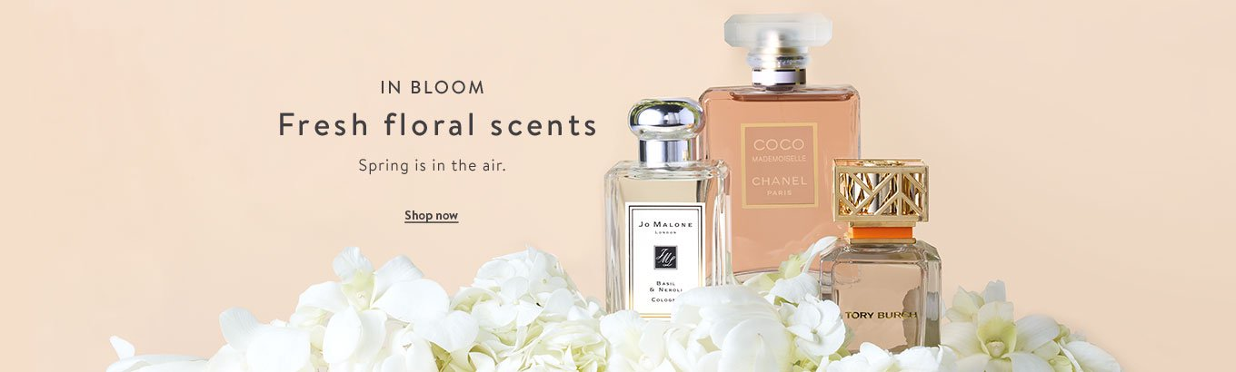 f64d688c979 In bloom. Fresh floral scents. Spring is in the air. Shop now.