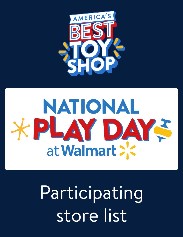 National Play Day at Walmart - Walmart com