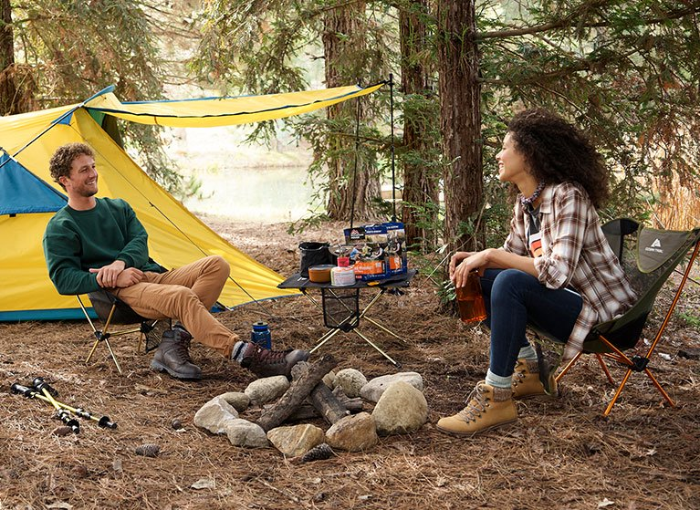 It's camping season. Grab supplies to gear up for tents & trails.