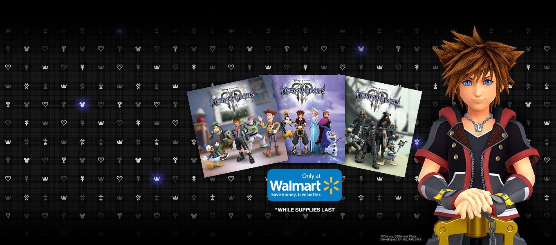 Kingdom Hearts 3. Walmart Exclusive. Preorder today and receive Kingdom Hearts 3 Art Cards.