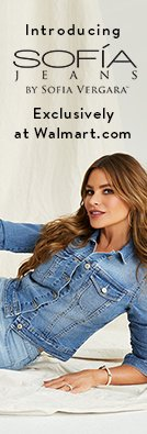 Introducing Sofía Jeans By Sofía Vergara. Exclusively at Walmart.com.