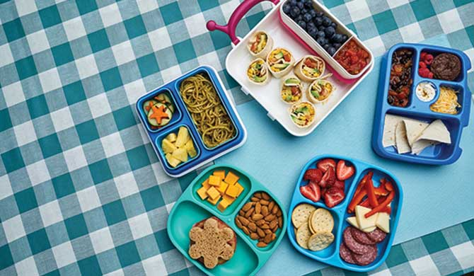 One Week Of Easy Bento Box School Lunches