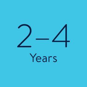 2-4 Years