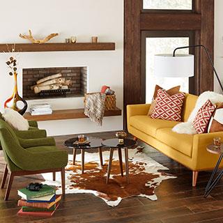 Wooden furniture living room designs Modern Living Room Zin Home Furniture Walmartcom