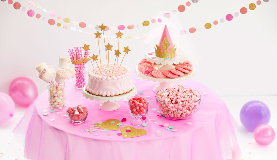 Pink Princess Birthday Party Food Decor Ideas