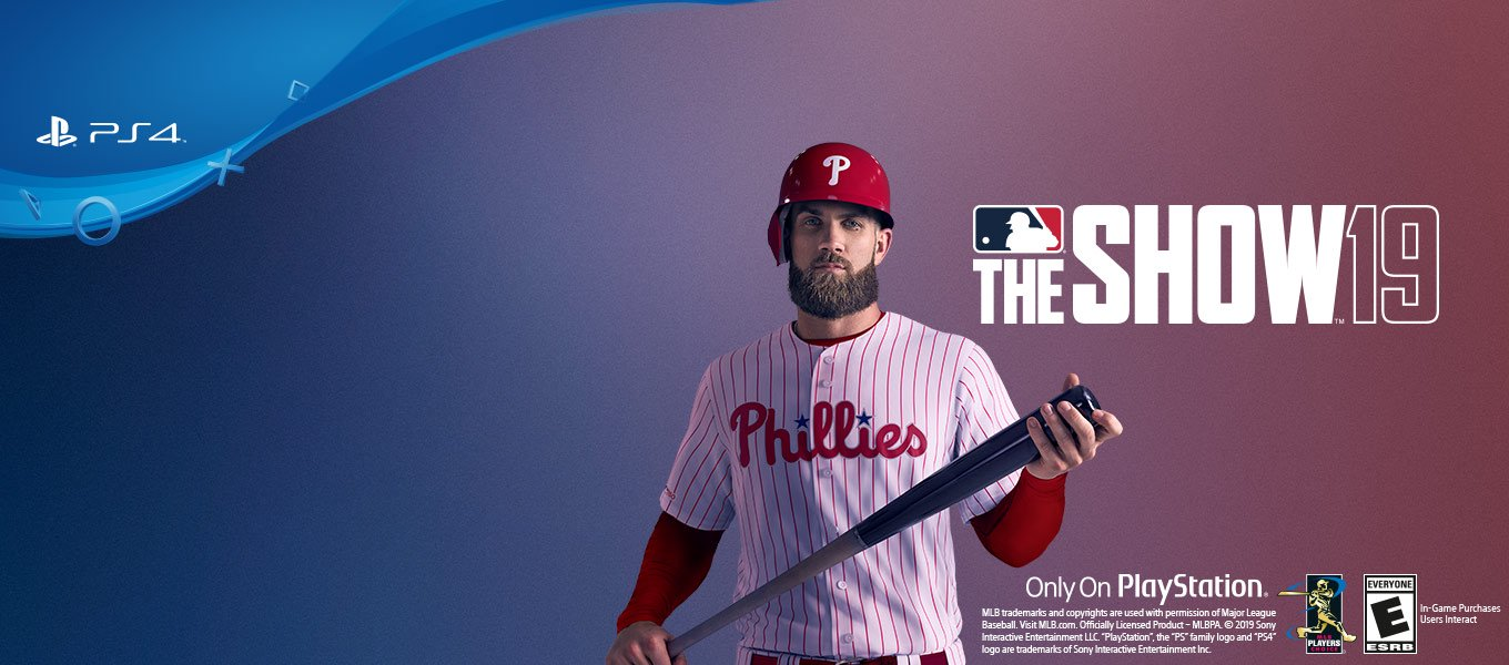 MLB The Show '19. Available now.