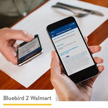 Bluebird American Express Walmart Moneycenter