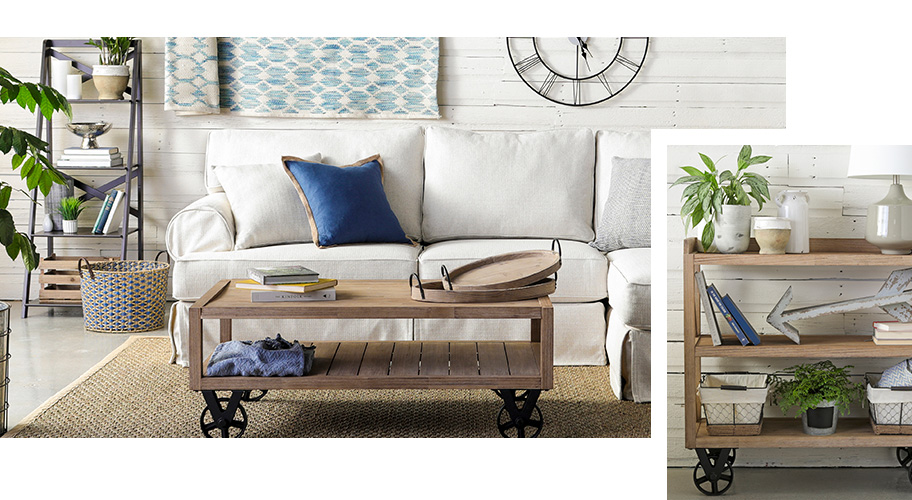 A Farmhouse style page of furniture and decor.