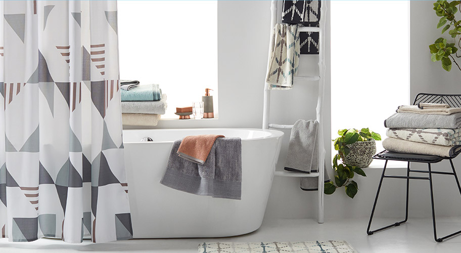 Introducing MoDRN. Find on-trend bath essentials from our exclusive line of modern designs.
