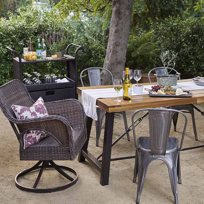 Give your patio a farmhouse feel. - Patio Furniture - Walmart.com
