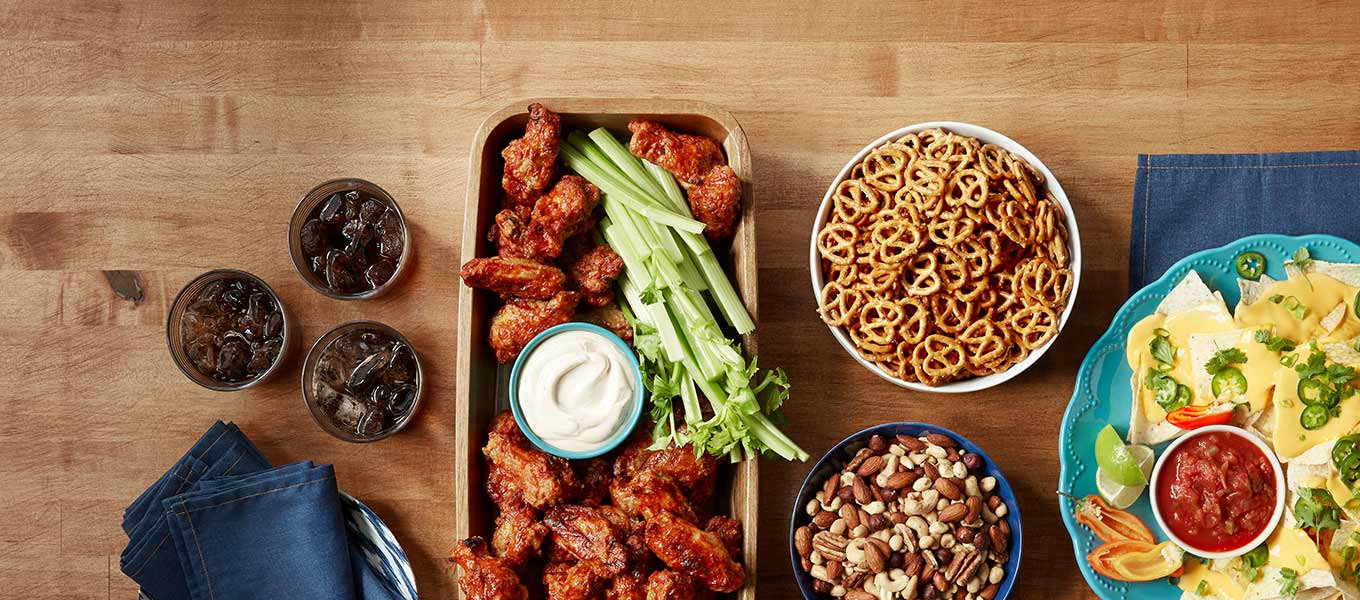 Surefire winners: Find delicious snacks, beverages and more for any game time party.