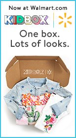 Now at Walmart.com. KIDBOX + Walmart. One box. Lots of looks.