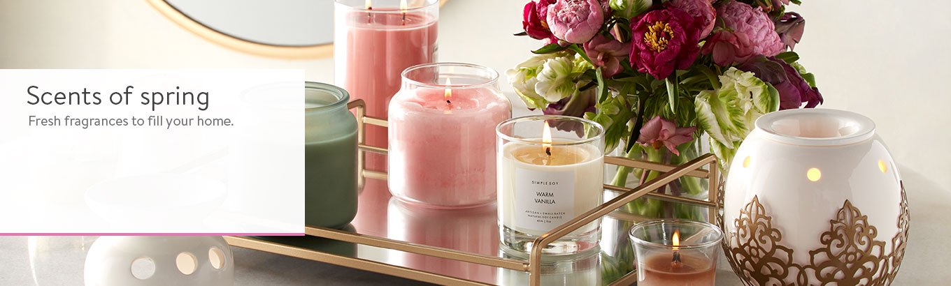 Spring Home Fragrance: Candles, Diffusers & Wax Warmers