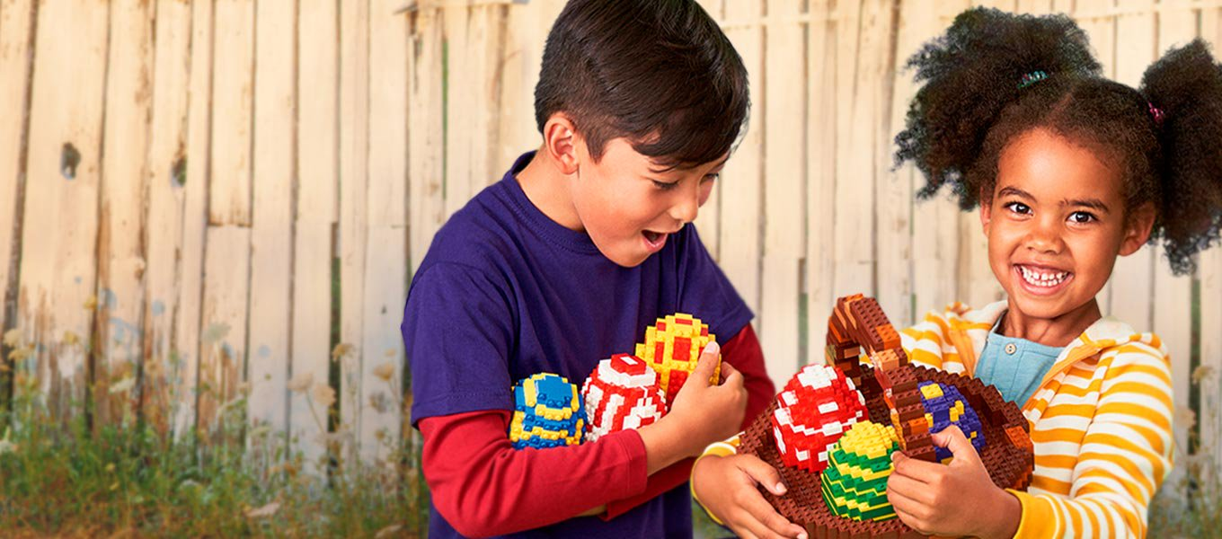 Easter goodies. Get their faves including LEGO building sets.