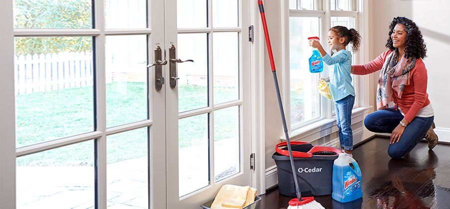 Come clean for spring. Get top-brand cleaning products like Windex and Clorox for less.
