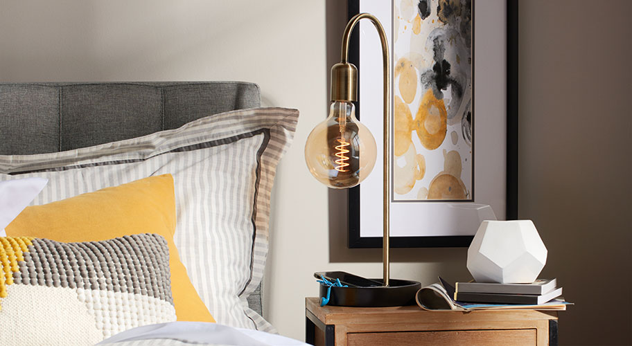 Let it glow. Take your home's ambiance to new heights with GE's new collection of trendy, vintage-inspired bulbs.