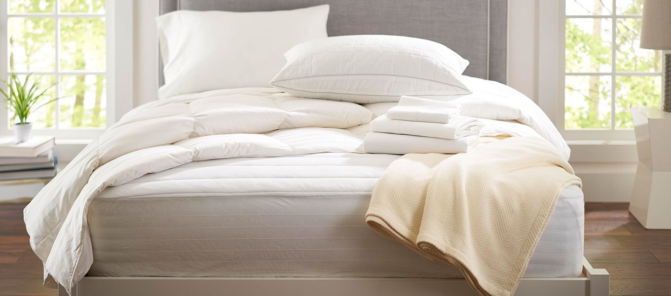 Refresh for less. Save up to 50% on bed and bath essentials.