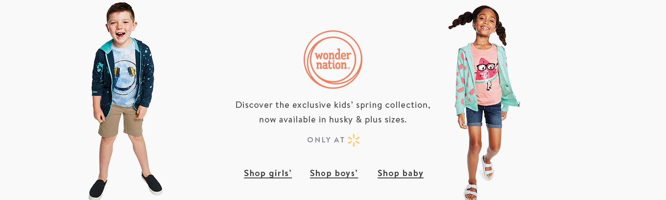 Shop kids' wonder nation.