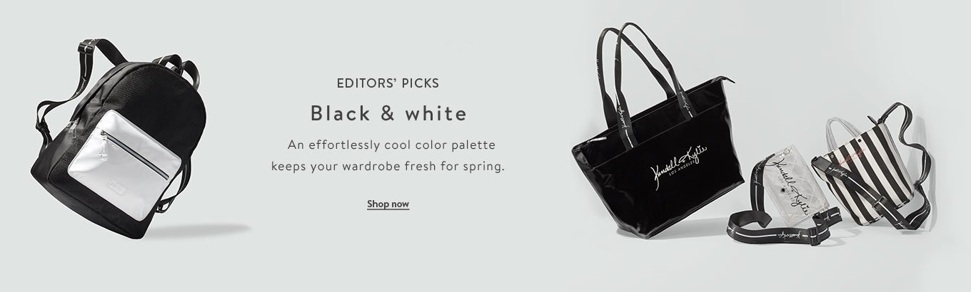 d7d567a7470 Editors  picks featuring black and white. An effortlessly cool color  palette keeps your wardrobe