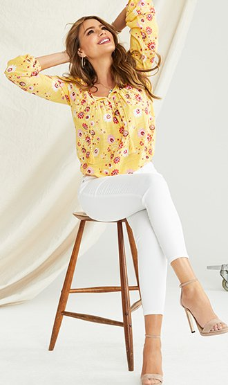 The Floral Peasant Blouse