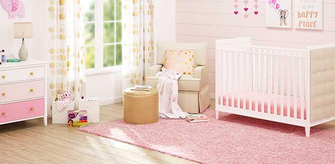 Gallery ba nursery teen room furniture free Classic Pink Nursery Collection Tuckkwiowhumcom Baby Furniture Walmartcom