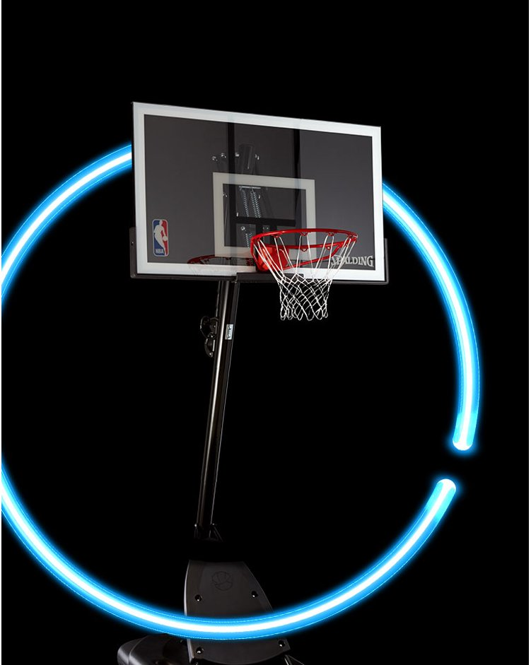 Shooting stars. Score big deals on basketball hoops.
