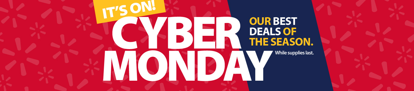 It's on! Cyber Monday. New items added. Our best deals of the season. While supplies last.
