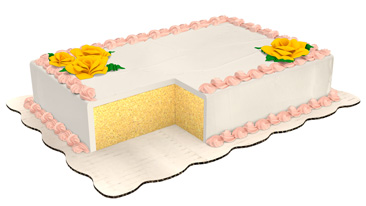 Custom Sheet Cake With White Icing And Balloons Learn How To Order Your