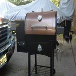 Pit Boss Classic 700 sq. in. Wood Fired Pellet Grill w ...